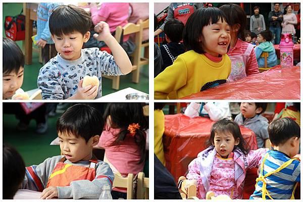 台中安君兒幼兒園日僑班2013聖誕DIY活動