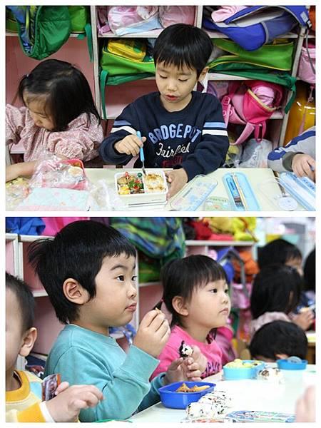 台中安君兒幼稚園日僑班12月便當日~菊組