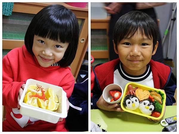 安君兒幼稚園12月便當日櫻組