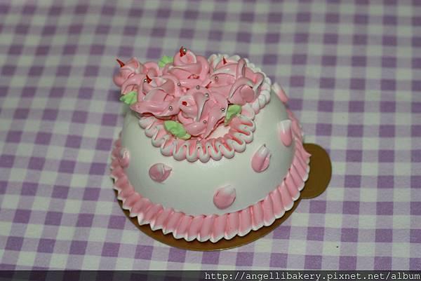 情人蛋糕 夾層-水果、布丁