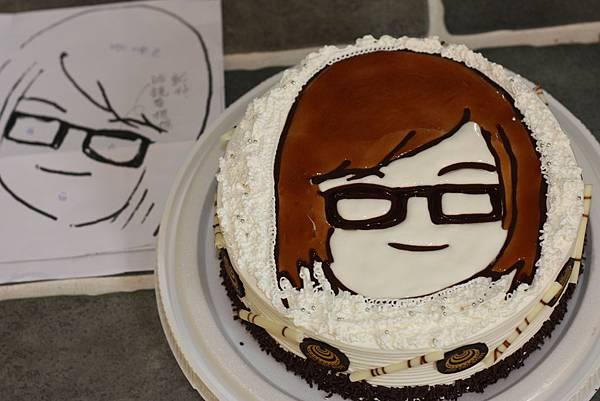 可愛俏皮個人公仔 【客製化造型蛋糕】