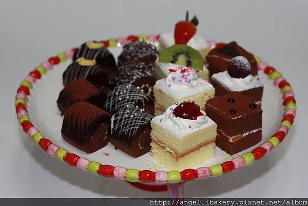 綜合mini蛋糕