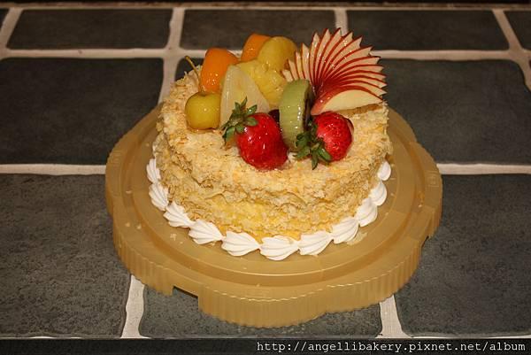 水果清蛋糕 【素食可食用】