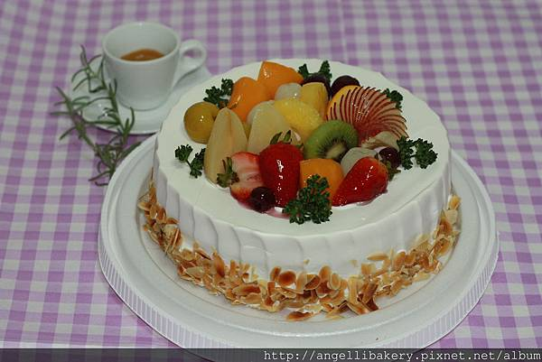 水果樂園 夾層-水果、布丁