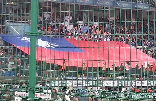 台灣少數能凝聚愛國心的地方