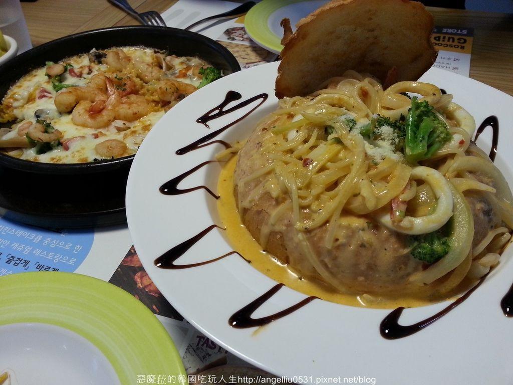 韓國│好吃又不貴 新村ROSCOCO義式料理連鎖店(로스꼬꼬)