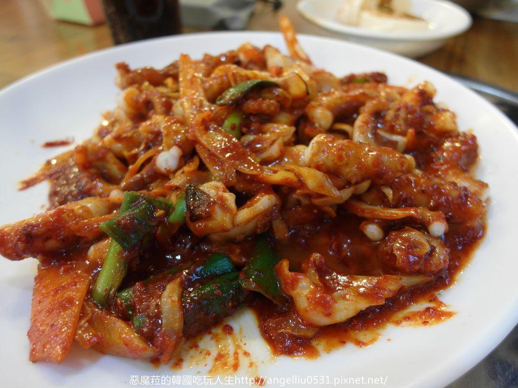 韓國│明洞 西羅亞蕎麥料理直火料理(실로암 메밀막국수직화낙지)