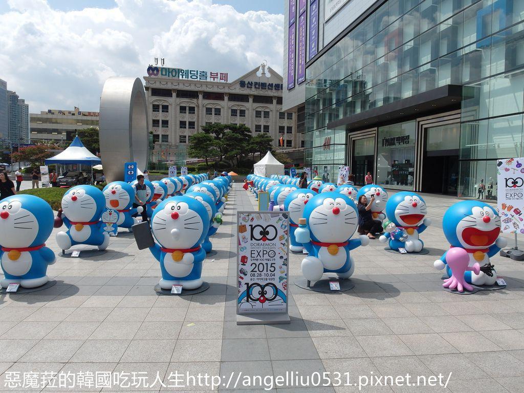 韓國│龍山站 哆啦A夢的100個祕密道具特展~100隻哆啦A夢等你來捕捉!