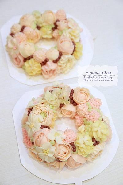 20160603韓式擠花作品