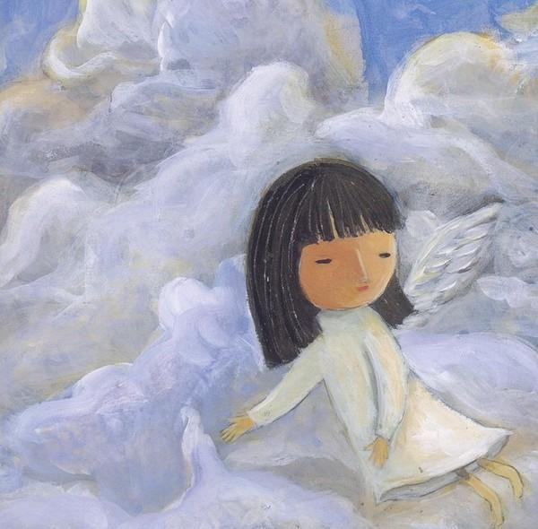 媽媽說:「所有小孩來到世上前,都是天上的小天使」