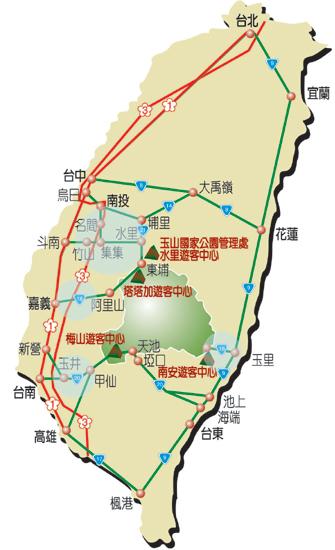 行軍之旅地圖