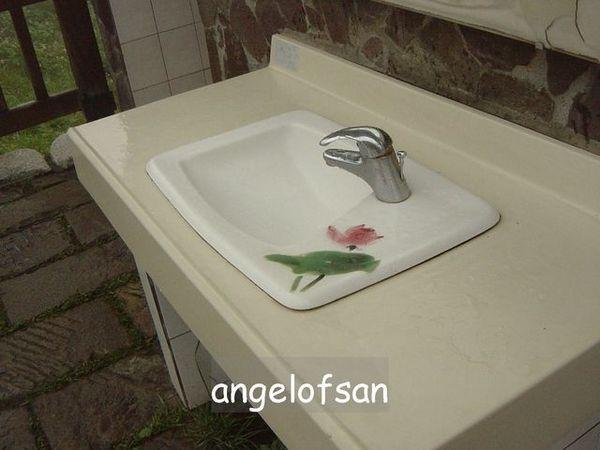 設計過的洗手台