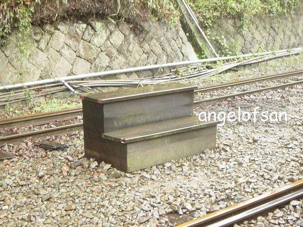 上火車的踏腳板