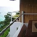 戶外的設施,就是超正海景+Jacuzzi(按摩浴缸)