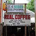 藏在小巷子裡頭的Real coffee聽說有長灘最好喝的咖...