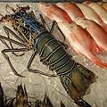 挖!還有超大的漂亮龍蝦! 一隻要破千~