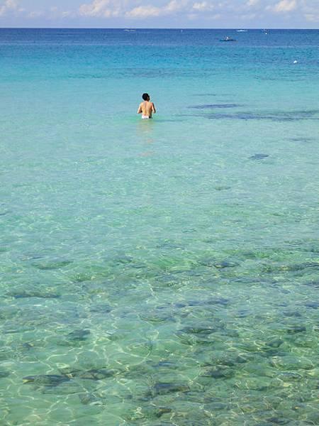 漸層的大海,美的好自然