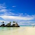 長灘島最美的一處景點,超乾淨的海水+沙灘!美翻了!