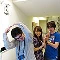 三個人三的主題~ 全面是Qoo 我是YA小姐 後面是詹姆士...