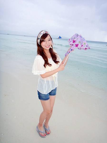 夢寐以求的沙灘上散步~我來啦!!