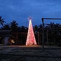 某處空地裡頭有顆美美的聖誕樹