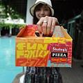 盒子超可愛的啦! 好像麵包餐盒!