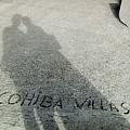 我們的影子跟很隨興的水泥地