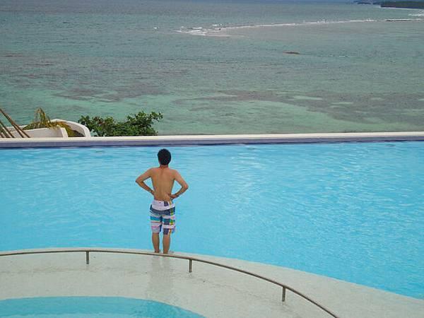 在度假真的很容易對著海發呆!