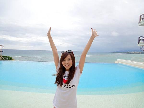 lovely pool~~~好夢幻的感覺