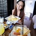 2樣早餐加起來660P (約400多~跟台灣早午餐差不多價...