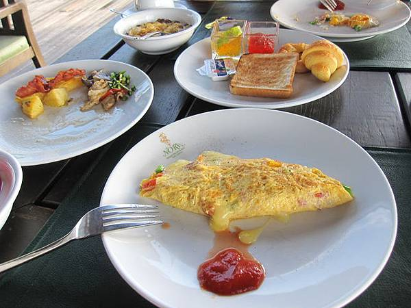 完全沒有戰鬥力的我..已經不像以前喜歡自助式早餐了