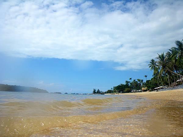 平靜的海浪