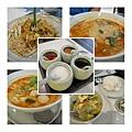 在曼谷機場吃了一餐泰國料理