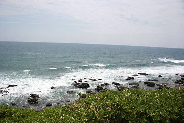 這裡的特色之一是沿海~視野遼闊