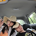 我們抵達台東森林公園~但賴在車上說要消化一下午餐~