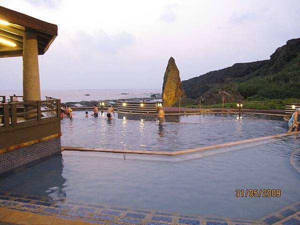 早晨五點~我們抵達朝日溫泉!