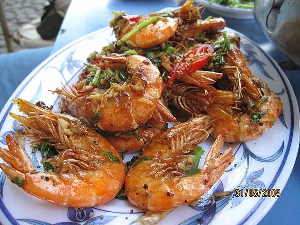 超級好吃溫泉胡椒蝦