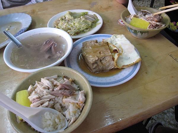 每家雞肉飯都會有的菜色~~
