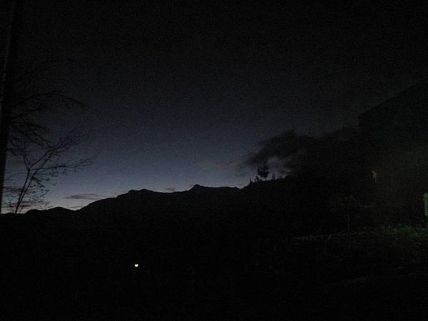 凌晨的阿里山