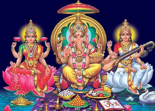 ganesh_lakshmi_saraswathi 2