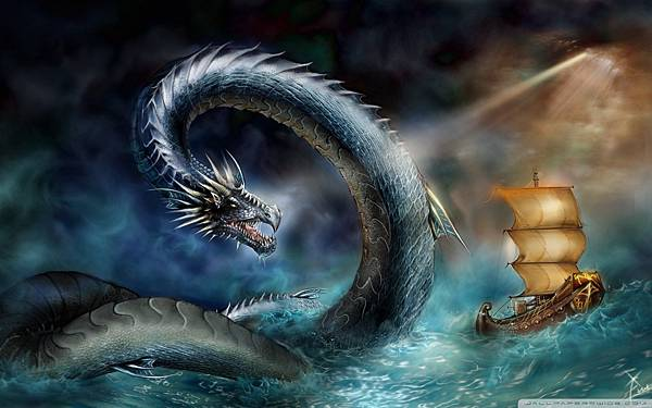 custom-canvas-fabric-wall-poster-font-b-sea-b-font-font-b-dragon-b-font-living