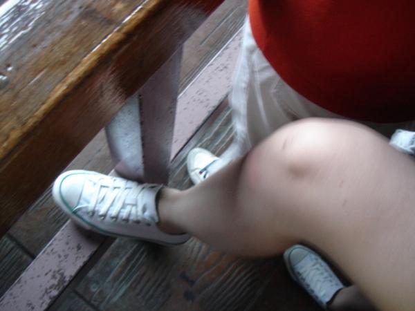 子欣的腳交