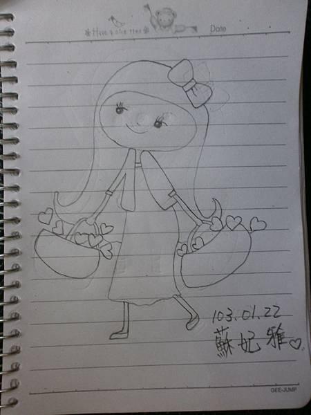 蘇妃雅瘋仿畫4