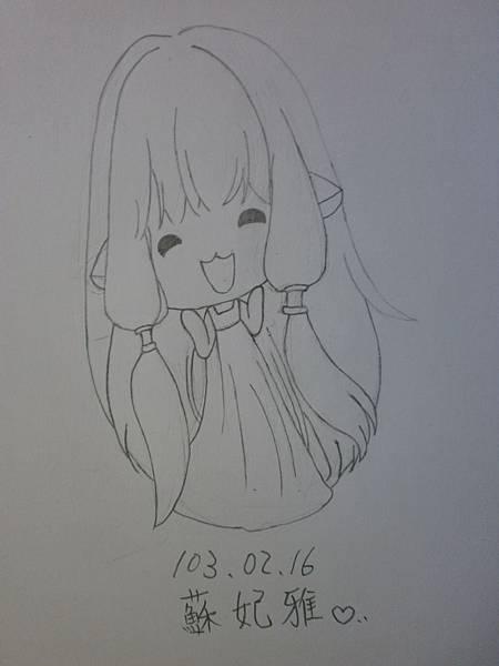 蘇妃雅瘋仿畫14