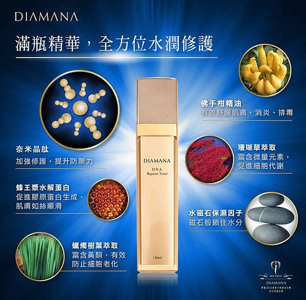 D.N.A極效特潤機能化妝水4