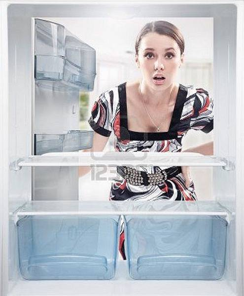 9068061-young-woman-looking-on-empty-shelf-in-fridge