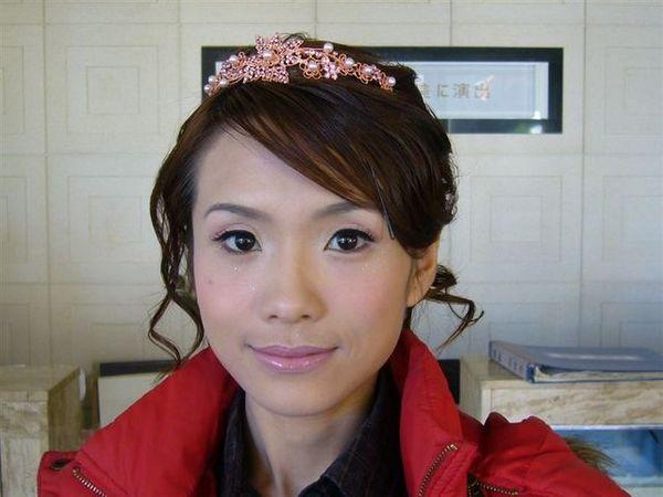 好美的新娘(髮夾是固定用的)