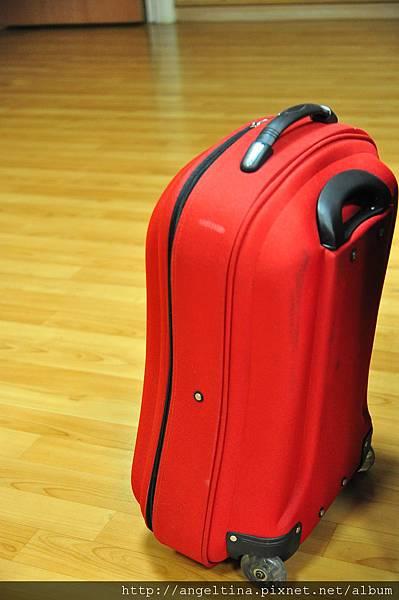 這只行李箱將陪伴我度過生產過程