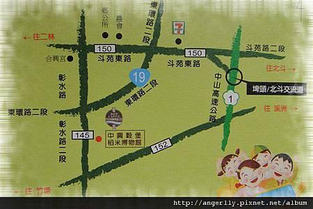 中興榖堡-交通地圖