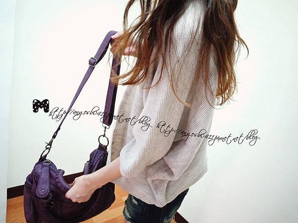 歐風慵懶寬鬆針織外套 / 罩衫